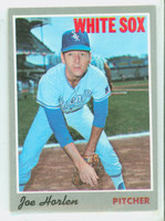 1970 Topps Baseball 35 Joe Horlen Chicago White Sox Excellent to Excellent Plus