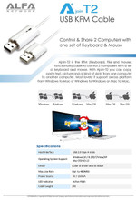 Ajoin-T2 Direct File Transfer between 2 PCs or MAC