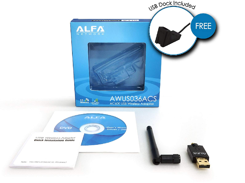 kali linux compatible usb wifi adapter