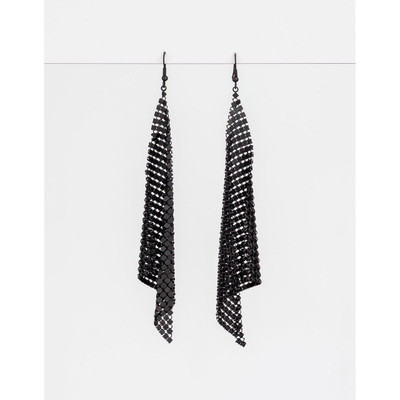 Stella & Gemma - Matt Black Glomesh Earrings