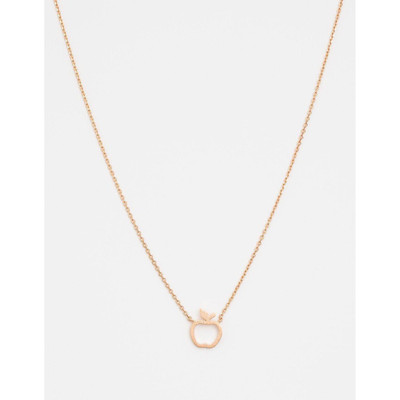 Stella & Gemma - Rose Gold Apple Necklace