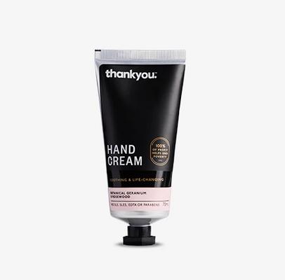 thankyou. Botanical Geranium & Rosewood Hand Cream