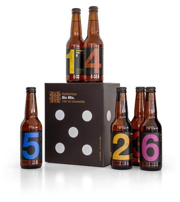 Hallertau Six Mix Craft Beer Sampler