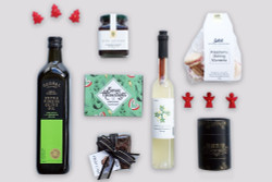 Christmas Gift Basket NZ | Willow & Wolfe | Happy Christmas Gift Hamper