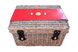 Christmas Gift Basket NZ   Willow & Wolfe   Ho Ho Holy Christmas Gift Hamper