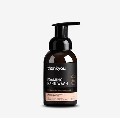 thankyou. Botanical Red Ginger & Blood Orange Foaming Hand Wash
