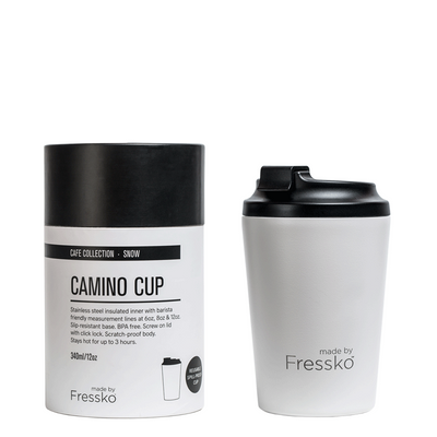 made by Fressko - CAMINO Coffee Cup (Snow)