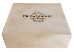 Rosé Wine Gift Box NZ | Willow and Wolfe | Racy Rosé Wine Gift Hamper