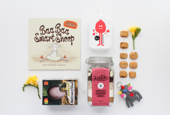 Gift Basket NZ | Willow & Wolfe | Cookie Monster Gift Hamper