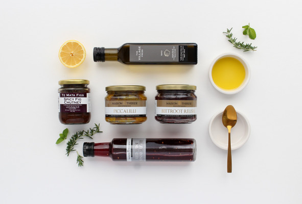 Gift Basket NZ | Willow and Wolfe | Condiments Gourmet Gift Hamper