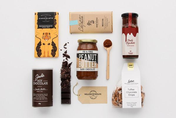 Chocolate Gift Basket NZ | Willow & Wolfe | Chocalicious Gift Hamper