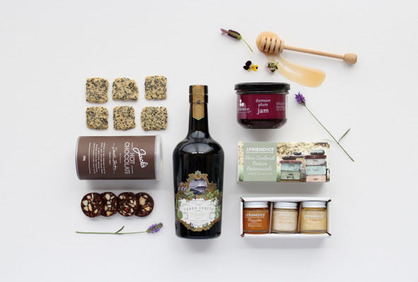 Gift Basket NZ | Willow and Wolfe | Goodie Box Gourmet Gift Hamper