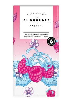 Wellington Chocolate Factory - Raspberry Milk Chocolate