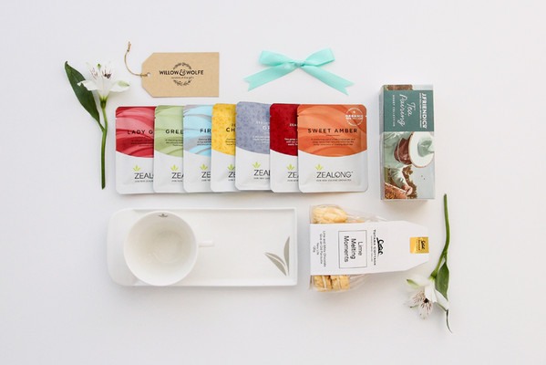 Gift Basket NZ | Willow and Wolfe | High Tea Gift Hamper