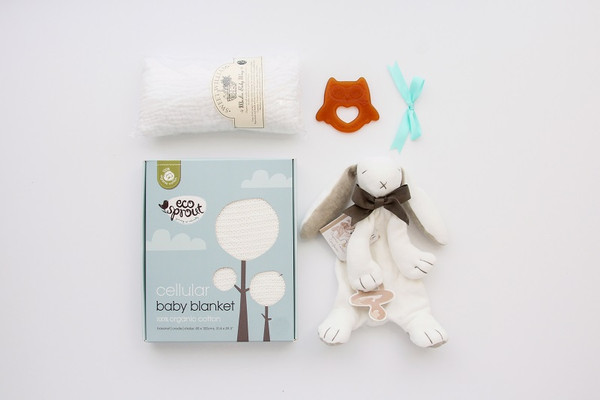 Gift Basket NZ | Willow and Wolfe | Hug Me Baby Gift Hamper