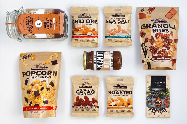 Gift Basket NZ | Willow & Wolfe | Go Nuts Gift Hamper