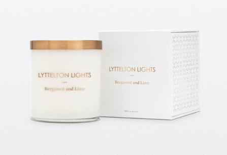 Lyttelton Lights Luxury Soy Candle - Medium