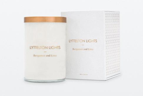 Lyttelton Lights Luxury Soy Candle - Large