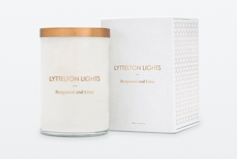 Lyttelton Lights Luxury Soy Candle -  Extra Large