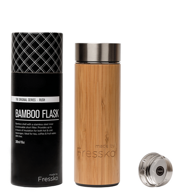 made by Fressko - RUSH Bamboo Flask