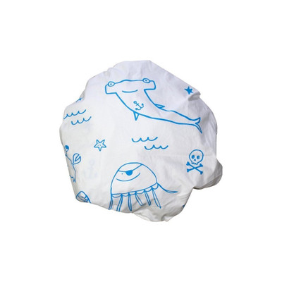 Henry and Co Fitted Cot Sheet - Blue Pirate Gang