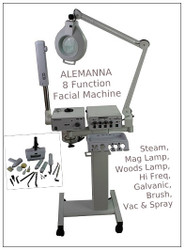 ALEMANNA 8 in 1 Function Facial Machine