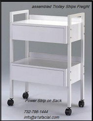 Athena Two Drawer Beauty Trolley