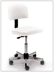 "Pibbs 648 Technician Stool Adjustable Height 18"" to 23"""