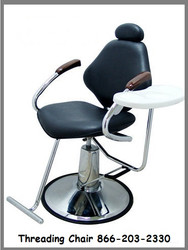 All Purpose Threading Chair with Removable Tray