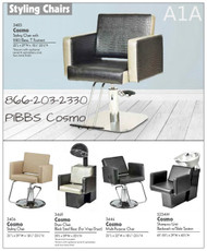 Cosmo 3406 Styling Chair