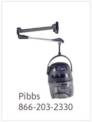Pibbs 515 Kwik Dryer With Wall Mount