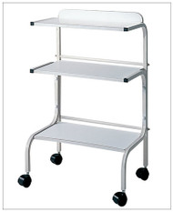 White Trolley with 3 shelves