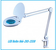 Magnifying Lamp with LED Bulbs