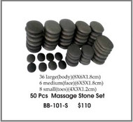 Hot Stone Set 50 pcs