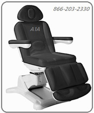 MedSpa Rotation Treatment Chair Charcoal Gray