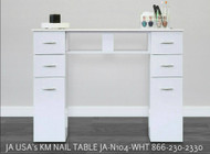 JA USA's KM WHITE NAIL TABLE