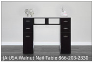 JA USA's KM BLACK NAIL TABLE