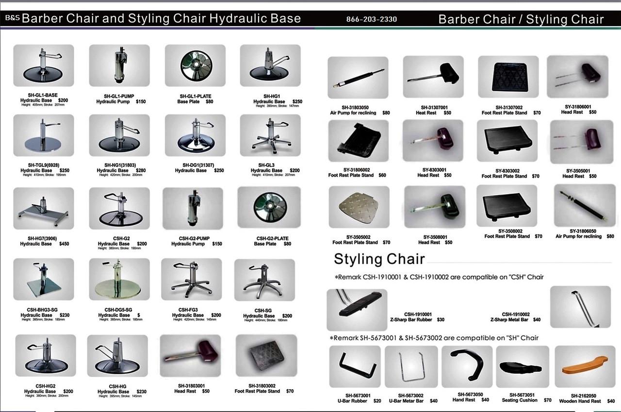 Enjoyable Bs Brand Barber And Salon Styling Chair Parts Pg 1 Short Links Chair Design For Home Short Linksinfo