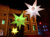LED, glow, light up, Star, hanging, lamp, light, prop, decoration, large, big, remote
