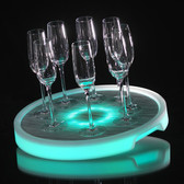 LED, Tray,light up, Neon,Glow,Multi-color, serving tray, bottle service, delivery, pool party, glow, glow party
