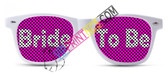 BRIDE CUSTOM WEDDING SUNGLASSES TO BE