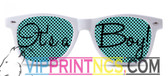 ITS A BOY CUSTOM SUNGLASSES
