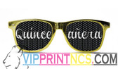 QUINCEANERA CUSTOM SUNGLASSES