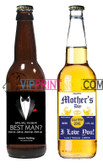 CUSTOM BEER LABEL & NECK TAG DECOR WEDDING