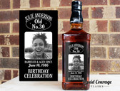 CUSTOM LIQUOR LABEL DECOR WEDDING