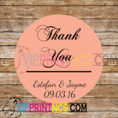 CUSTOM THANK YOU OR FAVOR BAG LABEL DECOR BAR/BAT MITZVAH