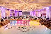 CUSTOM DANCE FLOOR VINYL DECOR WEDDING