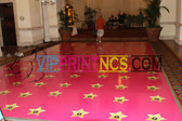 CUSTOM DANCE FLOOR VINYL DECOR BAR/BAT MITZVAH