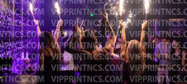 champagne bottle sparklers for vip service and the elite