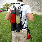 DUAL BACKPACK SHOT OR BEER DISPENSER